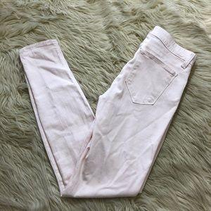 GENETIC Denim  Shya' Mid Waist Ankle Skinny Jeans